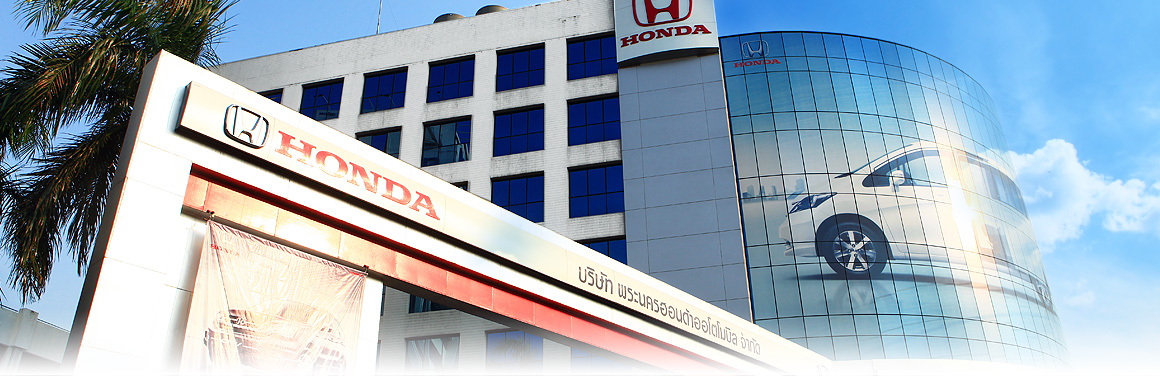 Phranakorn Honda Automobile Co Ltd PHA